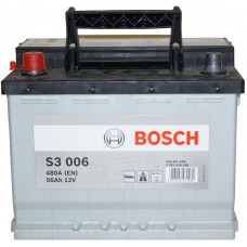 Автомобильный аккумулятор Bosch 6СТ-56 L+ S3 006