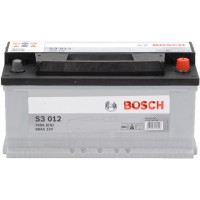 Автомобильный аккумулятор Bosch 6СТ-88 R+ S3 012