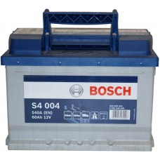 Автомобильный аккумулятор Bosch 6СТ-60 R+ S4 004
