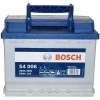 Автомобильный аккумулятор Bosch 6СТ-60 L+ S4 006