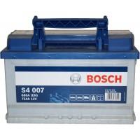 Автомобильный аккумулятор Bosch 6СТ-72 R+ S4 007