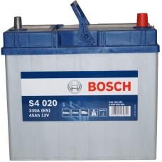 Автомобильный аккумулятор Bosch 6СТ-45 R+ S4 020