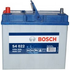 Автомобильный аккумулятор Bosch 6СТ-45 L+ S4 022