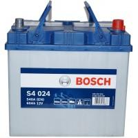 Автомобильный аккумулятор Bosch 6СТ-60 R+ S4 024