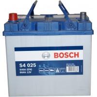 Автомобильный аккумулятор Bosch 6СТ-60 L+ S4 025