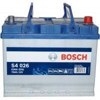 Автомобильный аккумулятор Bosch 6СТ-70 R+ S4 026