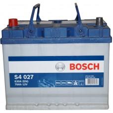 Автомобильный аккумулятор Bosch 6СТ-70 L+ S4 027