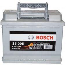 Автомобильный аккумулятор Bosch 6СТ-63 R+ S5 005