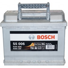 Автомобильный аккумулятор Bosch 6СТ-63 L+ S5 006