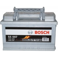 Автомобильный аккумулятор Bosch 6СТ-74 R+ S5 007
