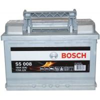 Автомобильный аккумулятор Bosch 6СТ-77 R+ S5 008