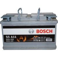 Автомобильный аккумулятор Bosch AGM 6СТ-80 R+ S5A 110