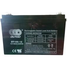 Промышленный аккумулятор Outdo 6СТ-100 12V