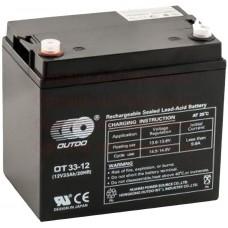 Промышленный аккумулятор Outdo 6СТ-33 12V
