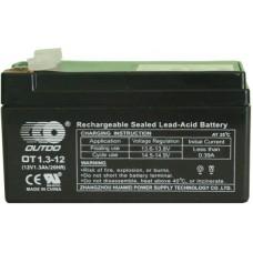 Промышленный аккумулятор Outdo 6СТ-1,3 12V