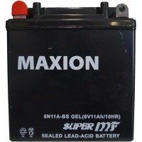 Мото аккумулятор Maxion 6N11A-BS Gel
