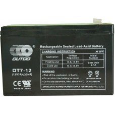 Промышленный аккумулятор Outdo 6СТ-7 12V