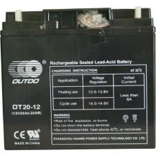 Промышленный аккумулятор Outdo 6СТ-20 12V