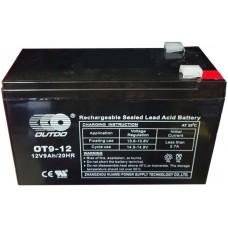 Промышленный аккумулятор Outdo 6СТ-9 12V