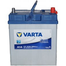 Автомобильный аккумулятор Varta 6СТ-40 BLUE dynamic (A14)