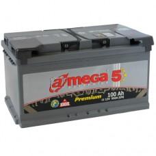 Автомобильный аккумулятор A-Mega 6СТ-100 R+ Premium 5