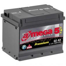 Автомобильный аккумулятор A-Mega 6СТ-60 R+ Premium 5