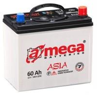 Автомобильный аккумулятор A-Mega 6СТ-60 R+ asia