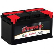 Автомобильный аккумулятор A-Mega 6СТ-100 R+ Standart 3