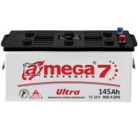 Грузовой аккумулятор A-Mega 6СТ-145 L+ Ultra 7