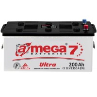 Грузовой аккумулятор A-Mega 6СТ-200 L+ Ultra 7