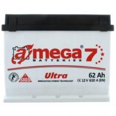 Автомобильный аккумулятор A-Mega 6СТ-62 L+ Ultra 7