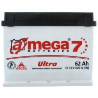 Автомобильный аккумулятор A-Mega 6СТ-62 R+ Ultra 7