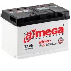 Автомобильный аккумулятор A-Mega 6СТ-77 R+ Ultra Plus 7+