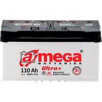 Автомобильный аккумулятор A-Mega 6СТ-110 R+ Ultra Plus 7+