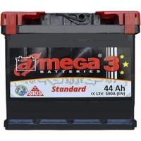 Автомобильный аккумулятор A-Mega 6СТ-44 L+ Standart 3