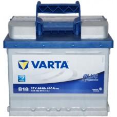 Автомобильный аккумулятор Varta 6СТ-44 BLUE dynamic (B18)