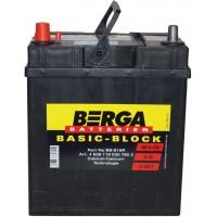 Автомобильный аккумулятор Berga 6СТ-35 L+ Basic Block