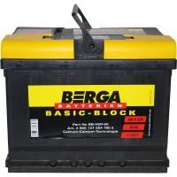 Автомобильный аккумулятор Berga 6СТ-60 L+ Basic Block