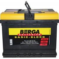 Автомобильный аккумулятор Berga 6СТ-60 R+ Basic Block - Европейский