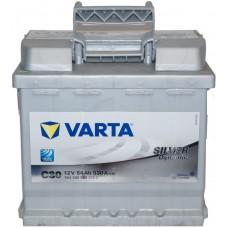 Автомобильный аккумулятор Varta 6СТ-54 SILVER dynamic (C30)