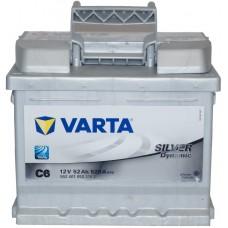 Автомобильный аккумулятор Varta 6СТ-52 SILVER dynamic (C6)