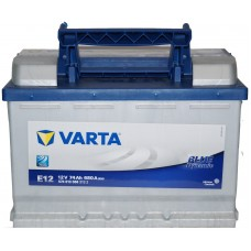 Автомобильный аккумулятор Varta 6СТ-74 BLUE dynamic (E12)