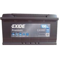 Автомобильный аккумулятор Exide 6СТ-100 R+ Premium