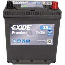 Автомобильный аккумулятор Exide 6СТ-38 R+ Jis Premium