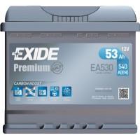 Автомобильный аккумулятор Exide 6СТ-53 R+ Premium