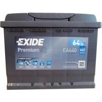 Автомобильный аккумулятор Exide 6СТ-64 R+ Premium