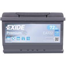 Автомобильный аккумулятор Exide 6СТ-72 R+ Premium