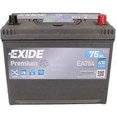 Автомобильный аккумулятор Exide 6СТ-75 R+ Jis Premium
