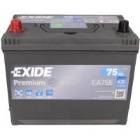Автомобильный аккумулятор Exide 6СТ-75 L+ Jis Premium