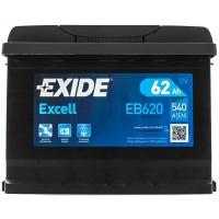 Автомобильный аккумулятор Exide 6СТ-62 R+ Excell